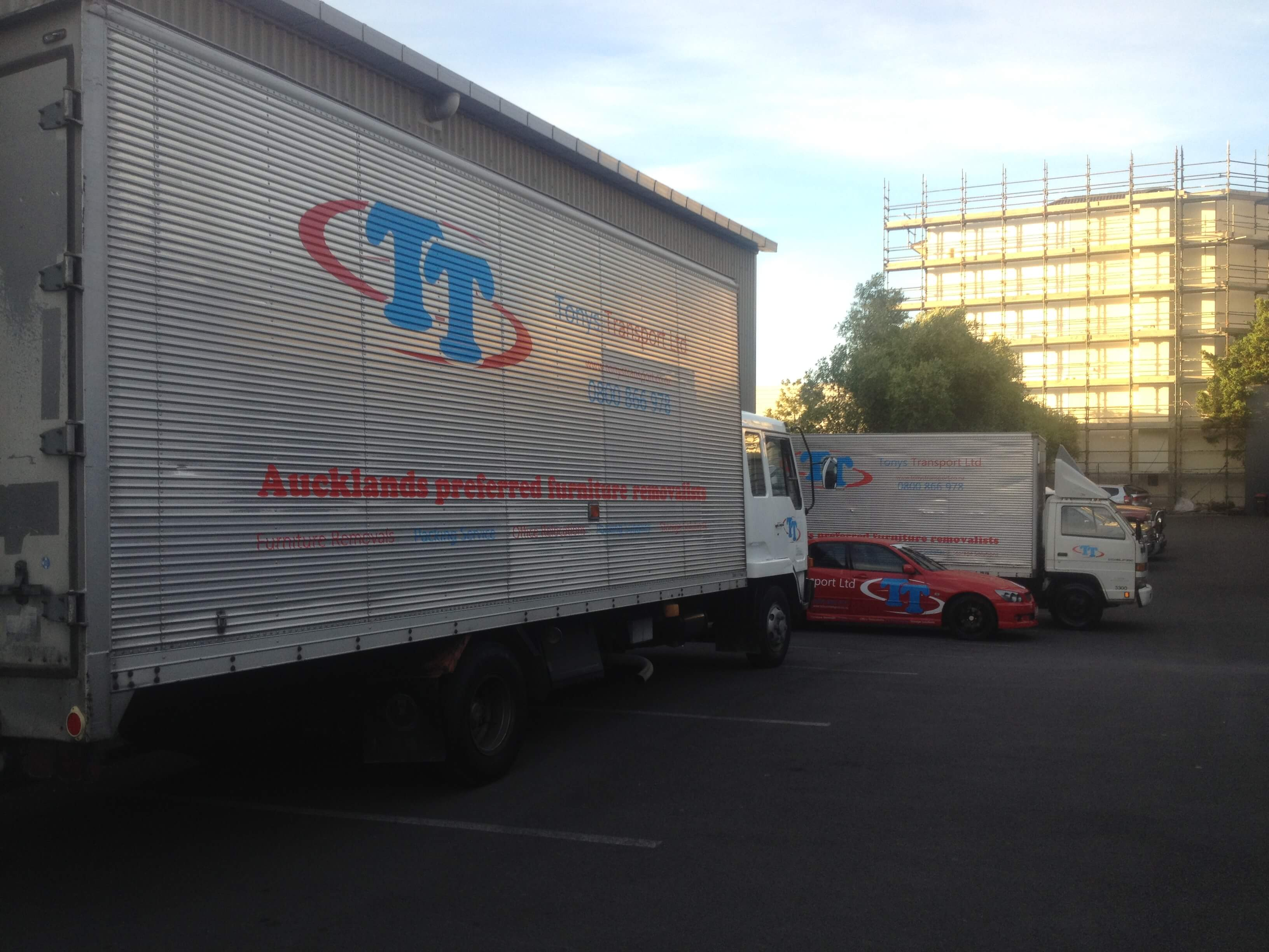 Tony transport best moving company Auckland